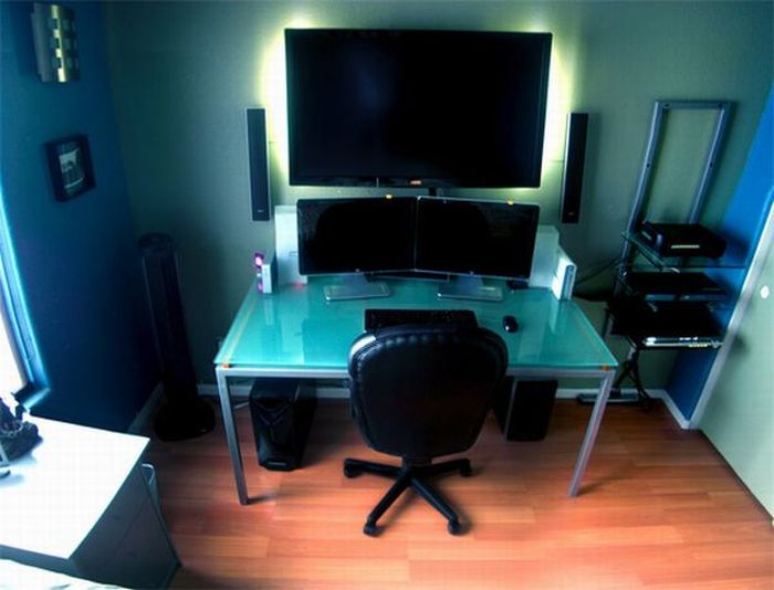 clean tv setup