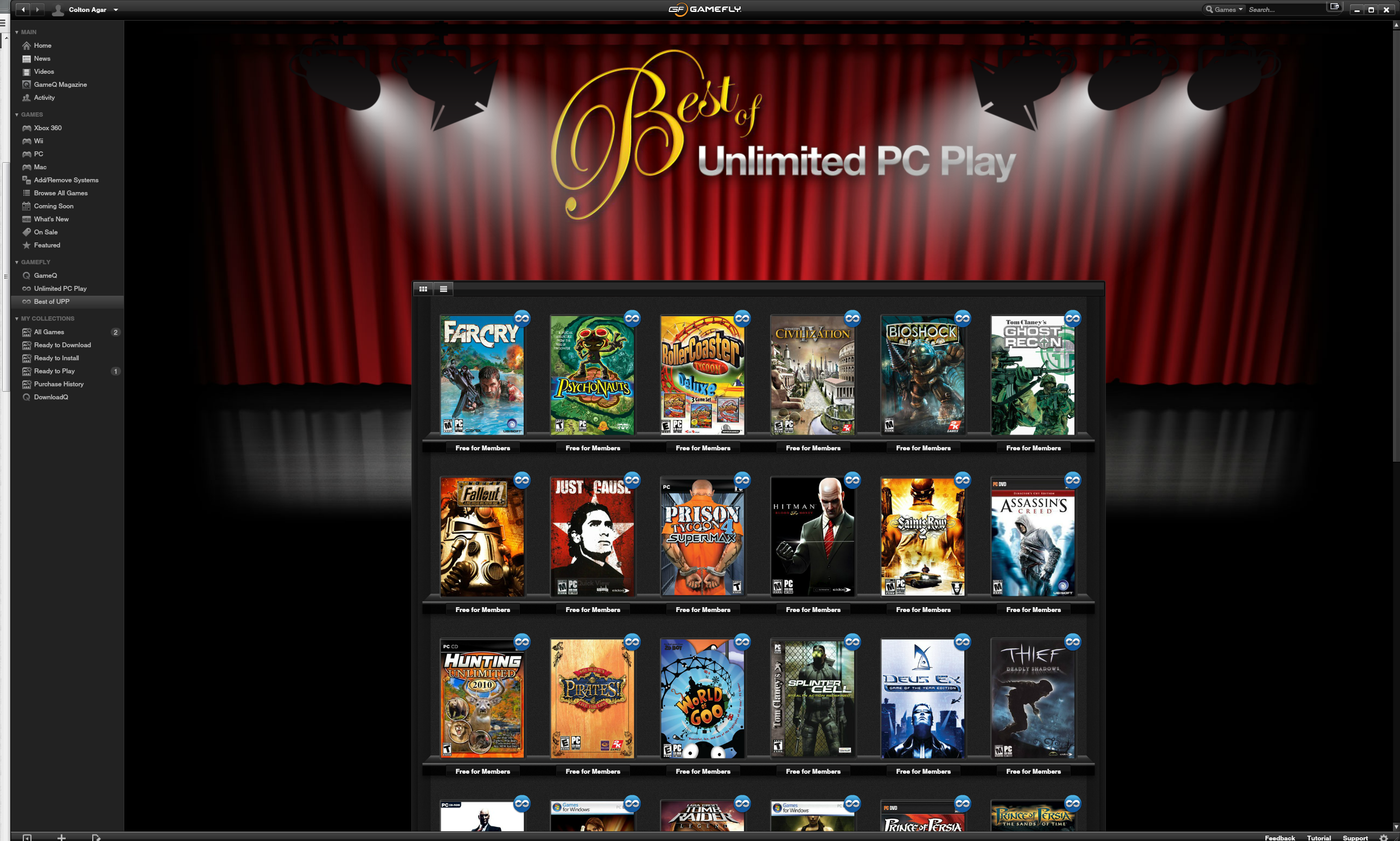 best of unlimited PC play