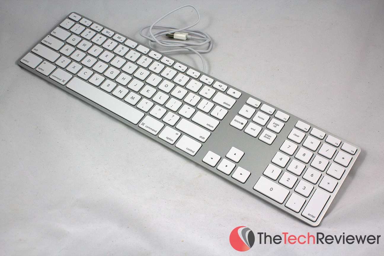 db13afb181f Apple Aluminum Wired Keyboard MB110LL/B Review - Better Than ...