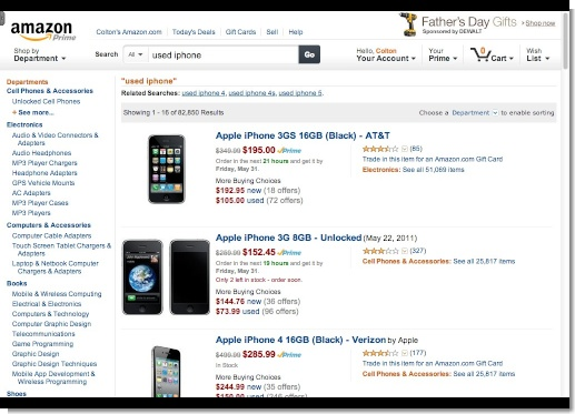 Amazon.com  used iphone (1)