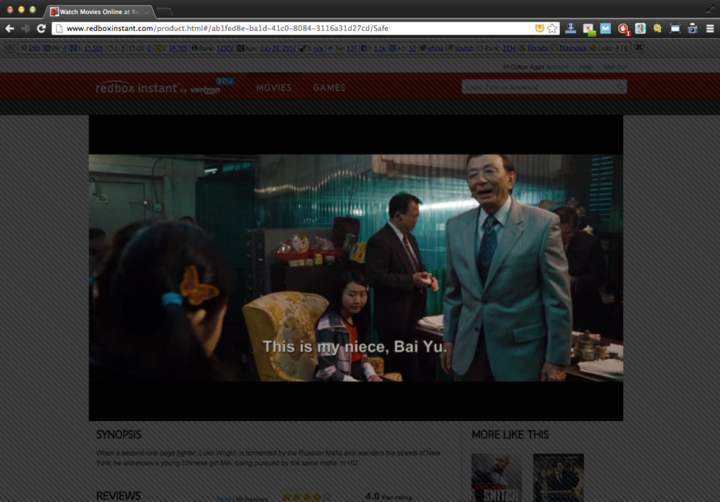 Redbox Instant Review   Online Video Streaming Service