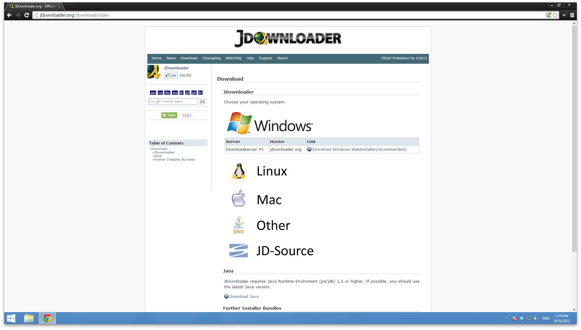 Step #1: Download & Install The Free Jdownloader Software (available For Mac  & Windows)