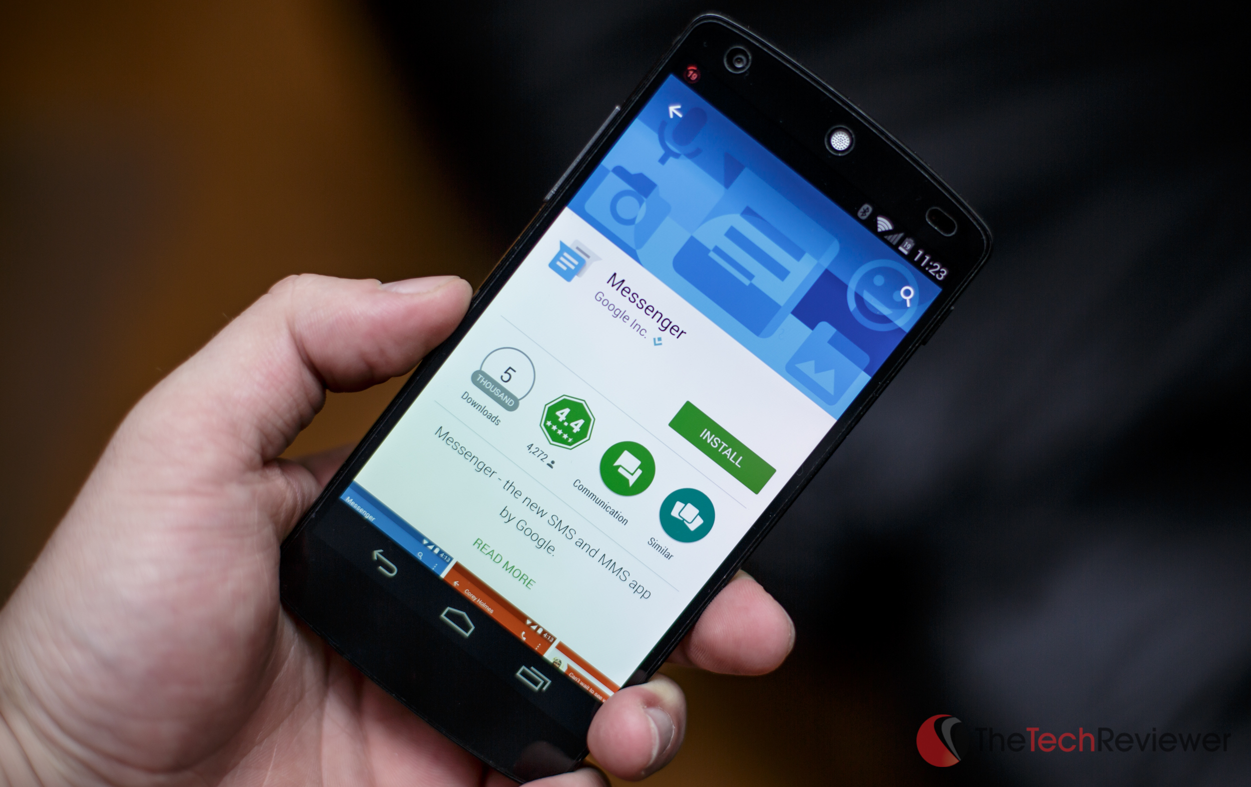 Google Releases New Standalone Messaging App For Android