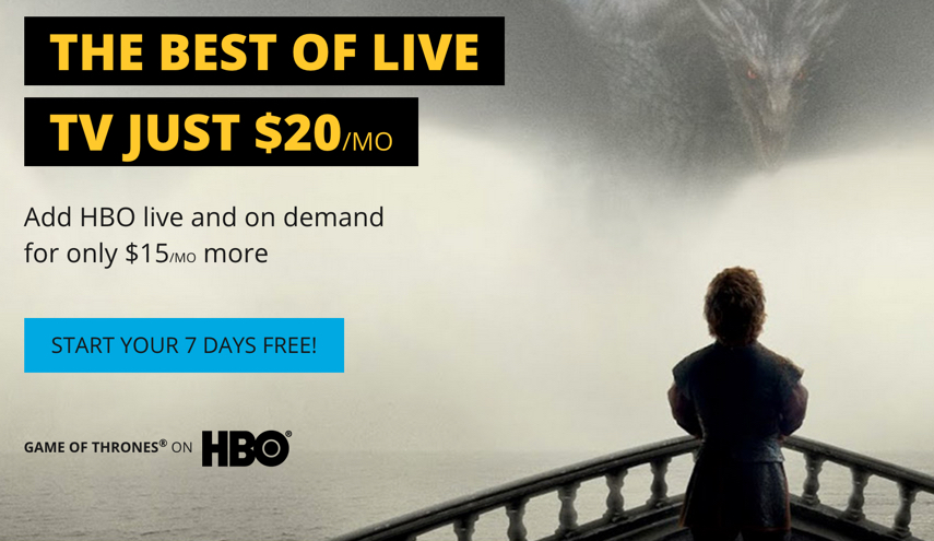 HBO Content Is Now Available For Streaming Via Sling TV