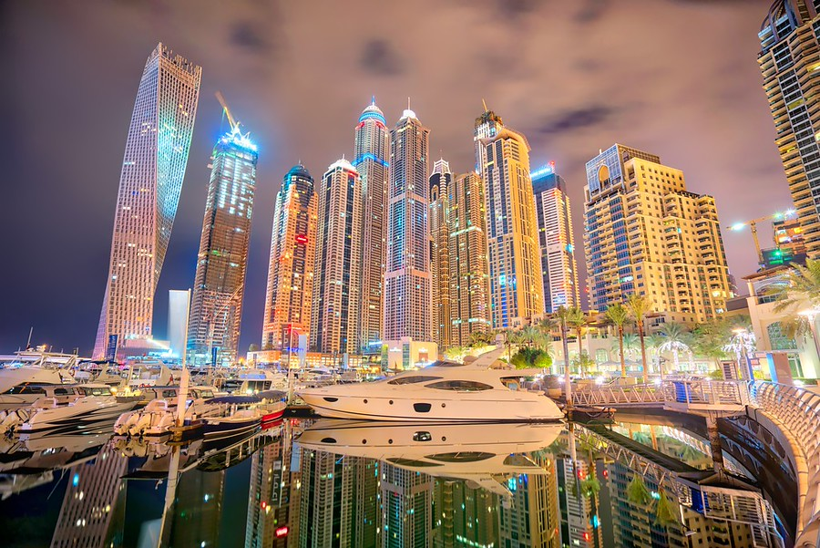 Trey Ratcliff - Dubai Marina - More Masking-900x601 (1)