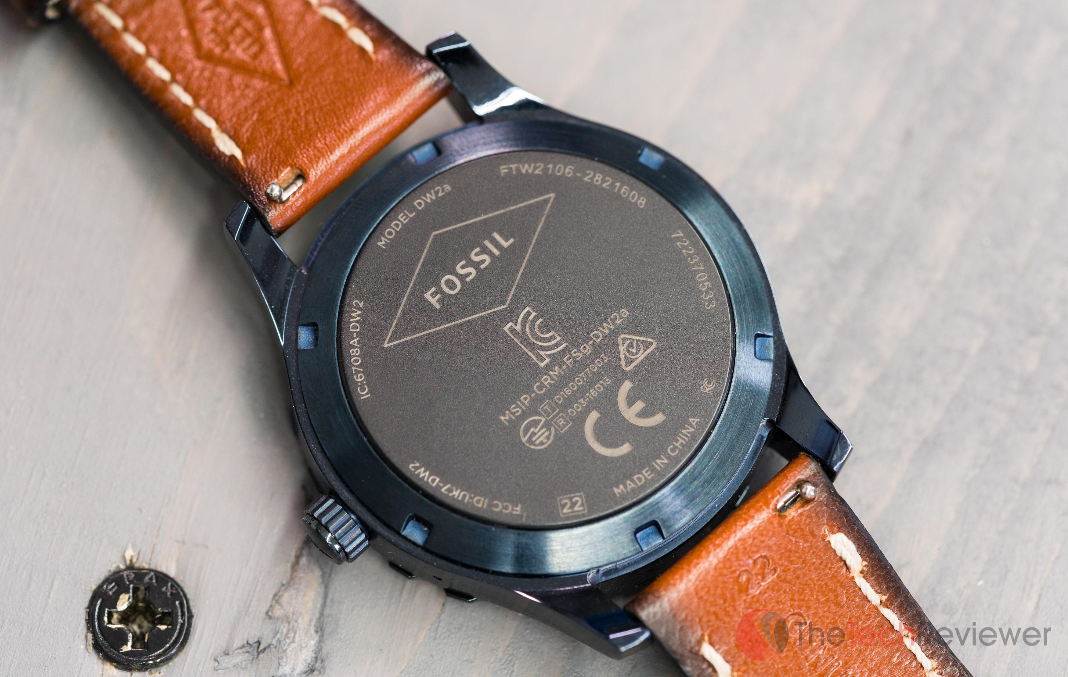 Fossil Q Marshal Smartwatch 0737