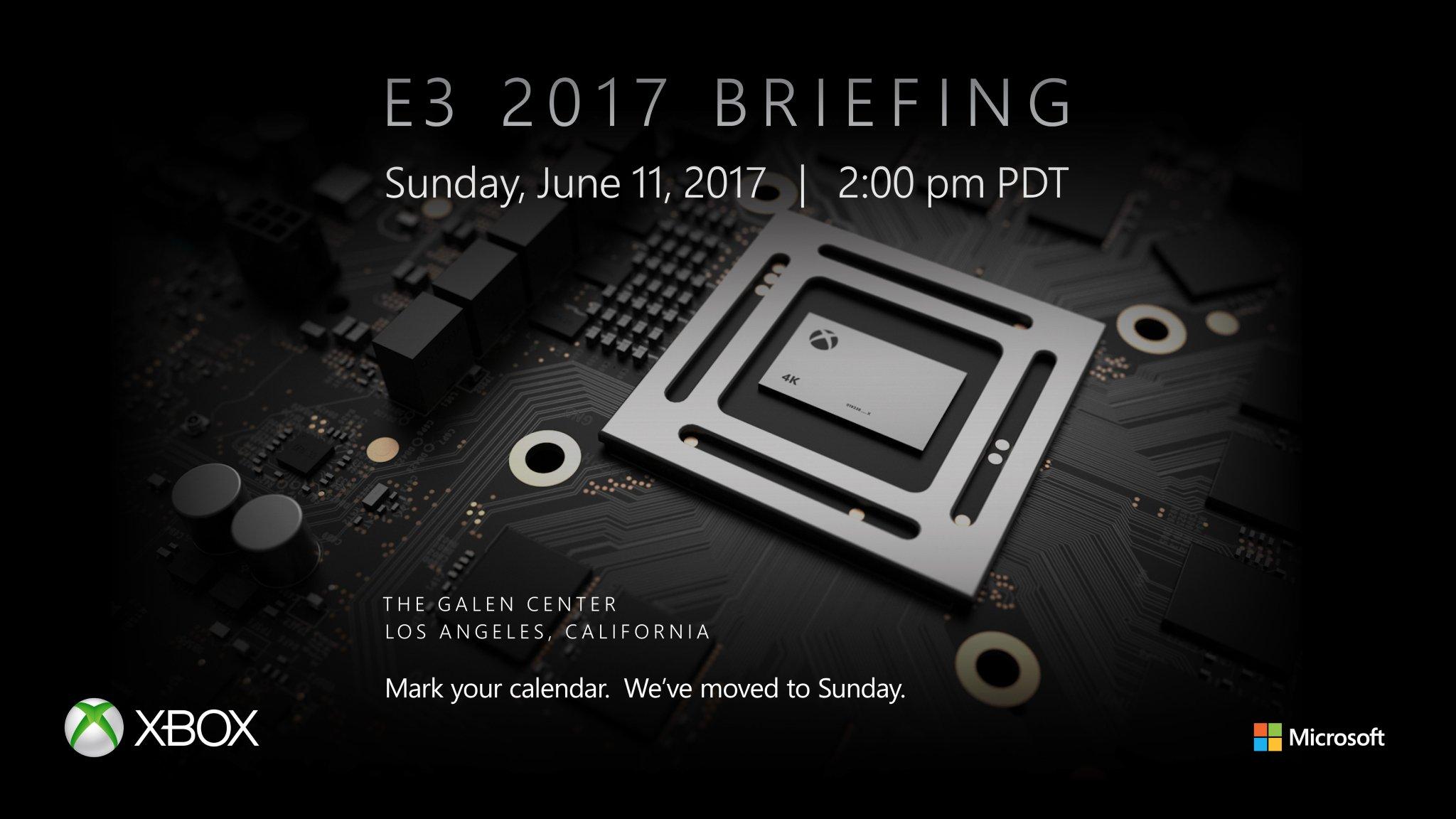 Microsoft Project Scorpio Xbox