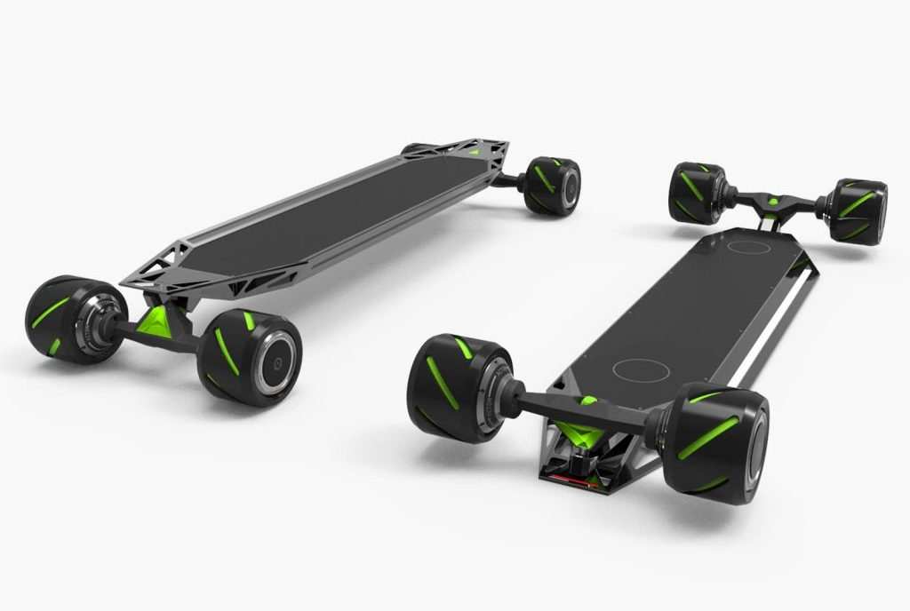 Acton Blinker Quatro remote controlled board