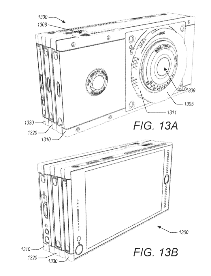 A reference of the Hydrogen One from a June 15th, 2017 patent filed by RED