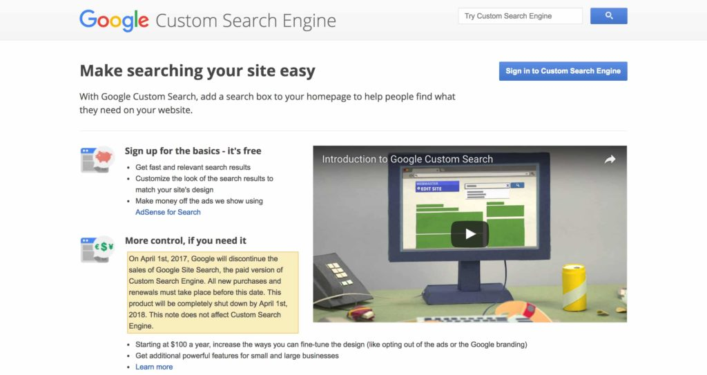 Google Custom Search Engine - Best WordPress Search Plugin