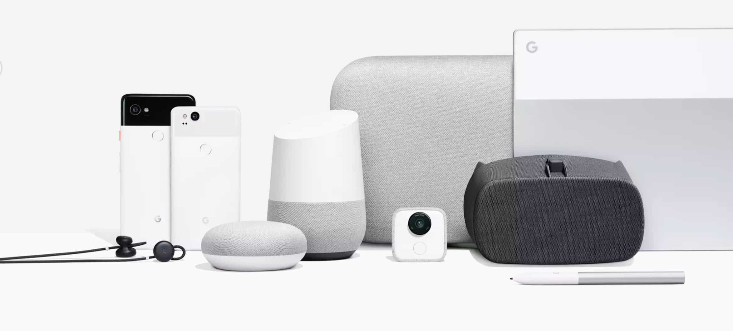 Google Hardware Lineup