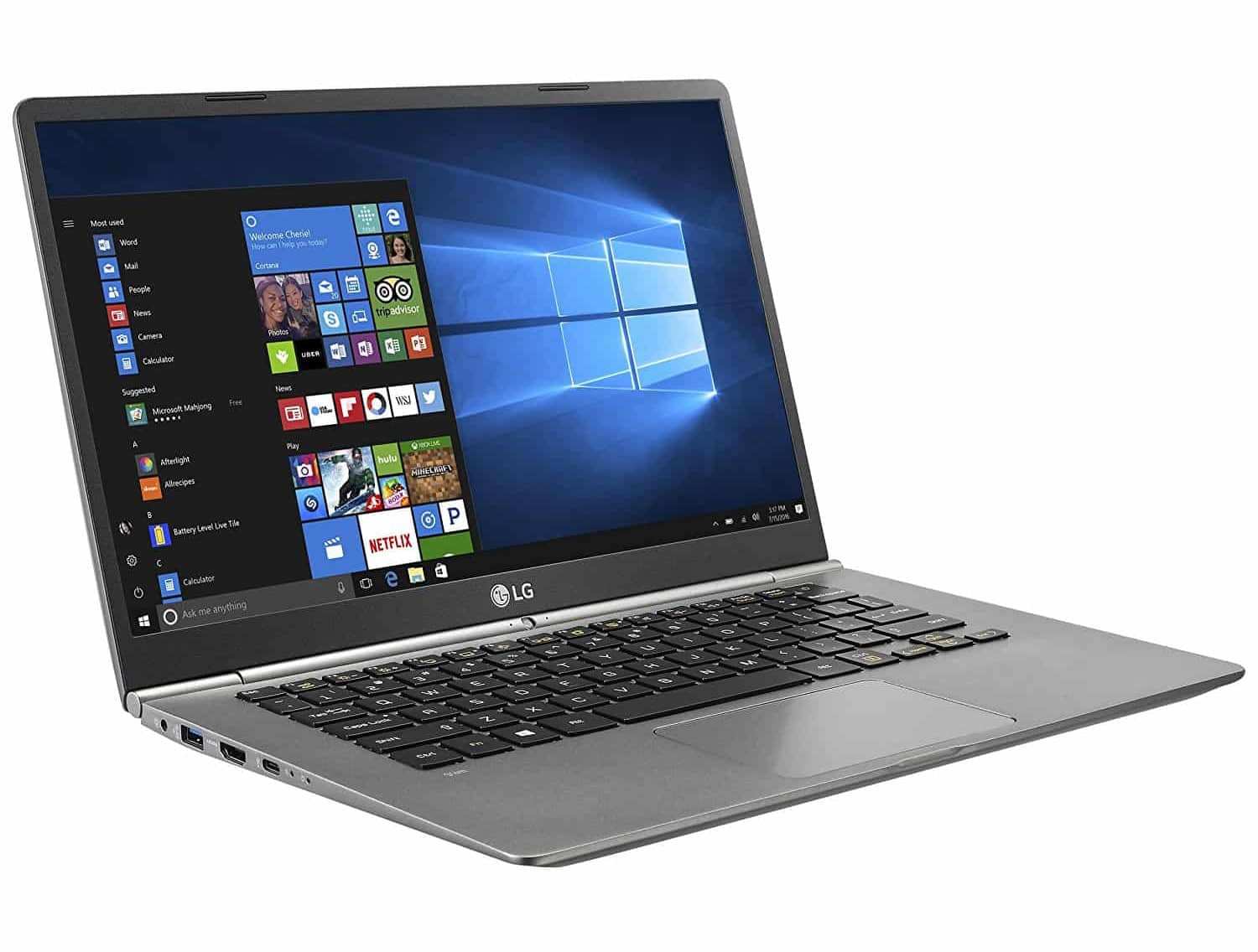 LG Gram 14 - 14 inch laptop with SSD
