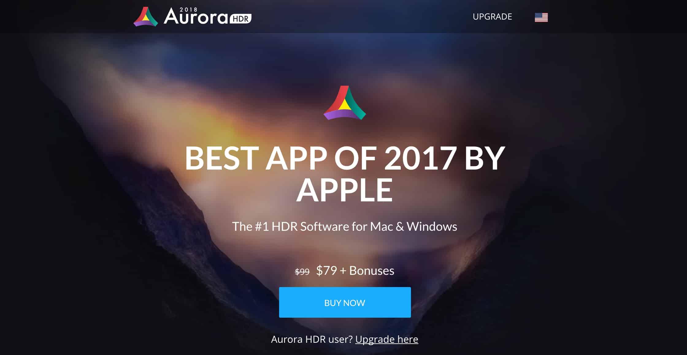 Aurora HDR 2018 - Mac App Of The Year 2017 (1)