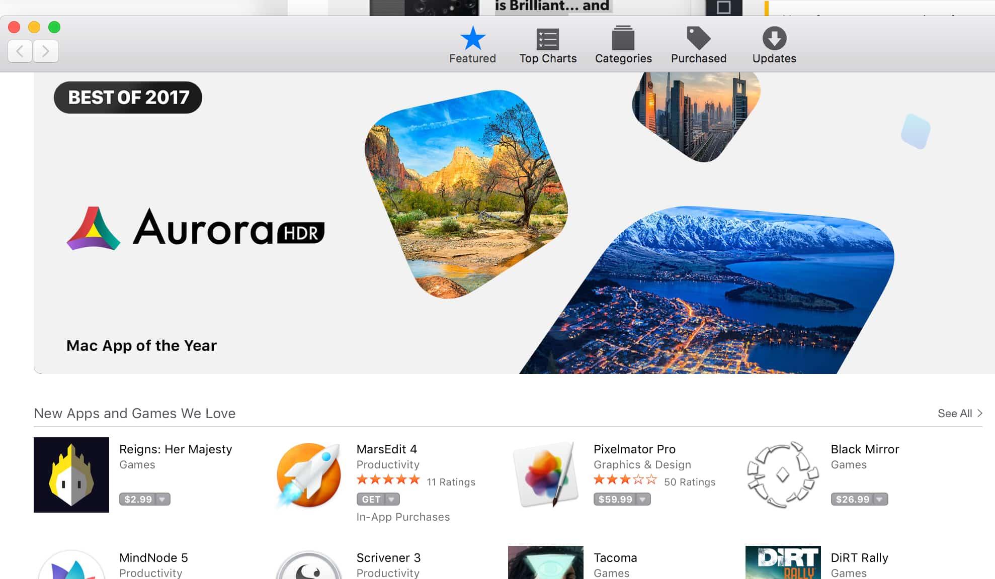 Aurora HDR 2018 - Mac App Of The Year 2017