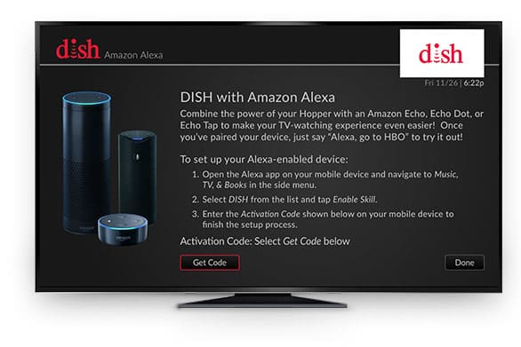 Amazon Echo & DISH Network