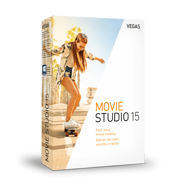 Vegas Movie Studio 15 - best beginner video editing software windows