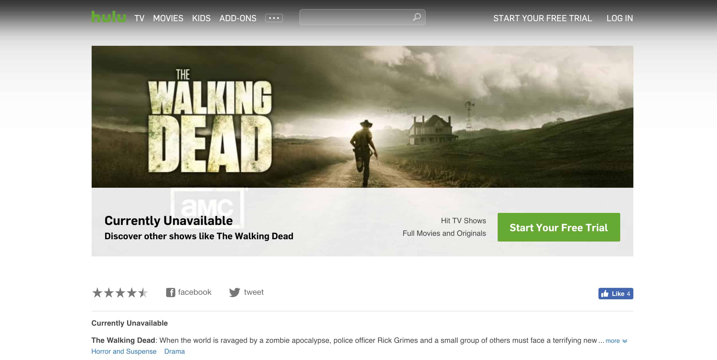 Watch The Walking Dead Online? Free & Paid Streaming Options