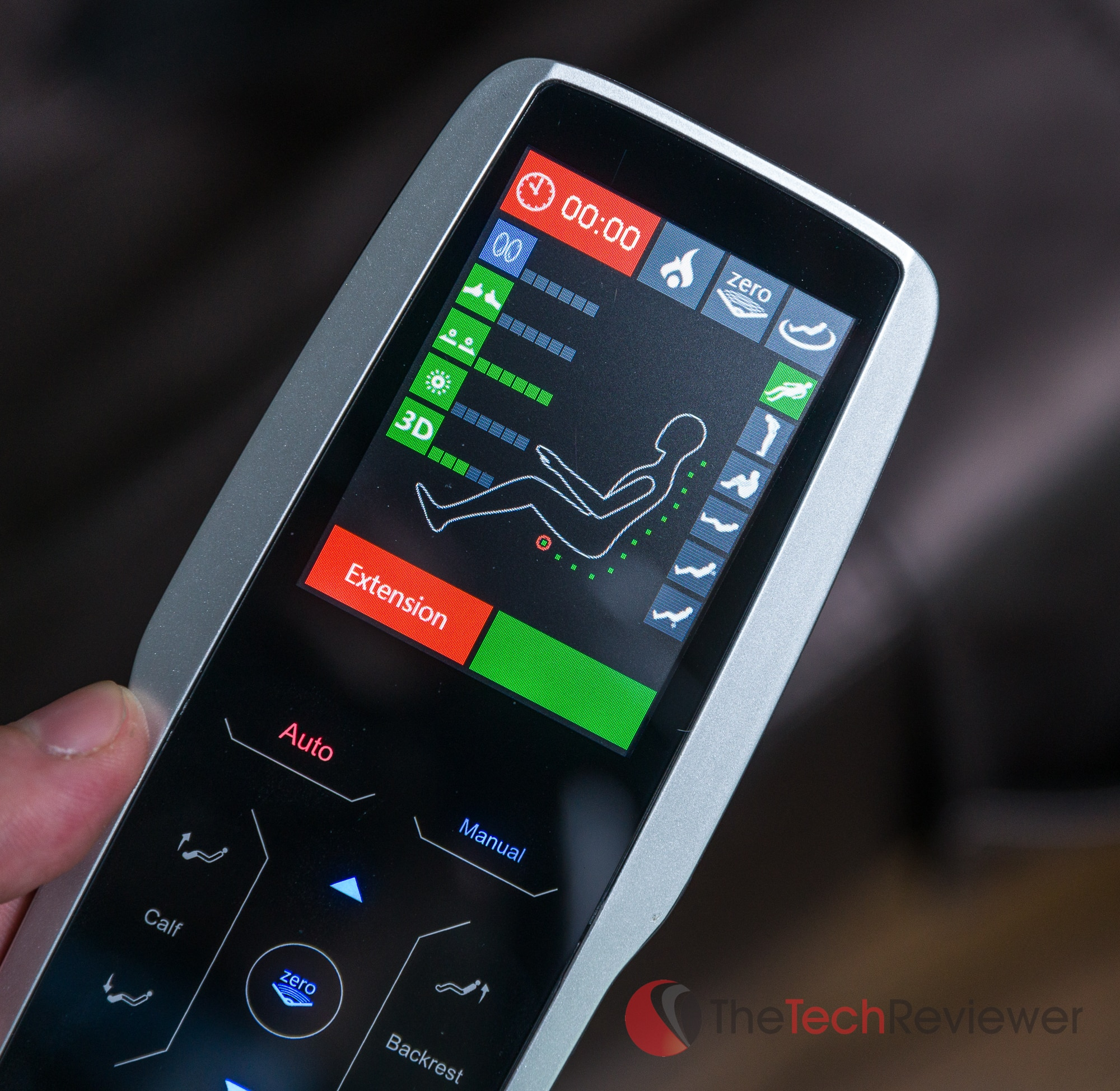 Riage Massage Chair Remote LCD Display