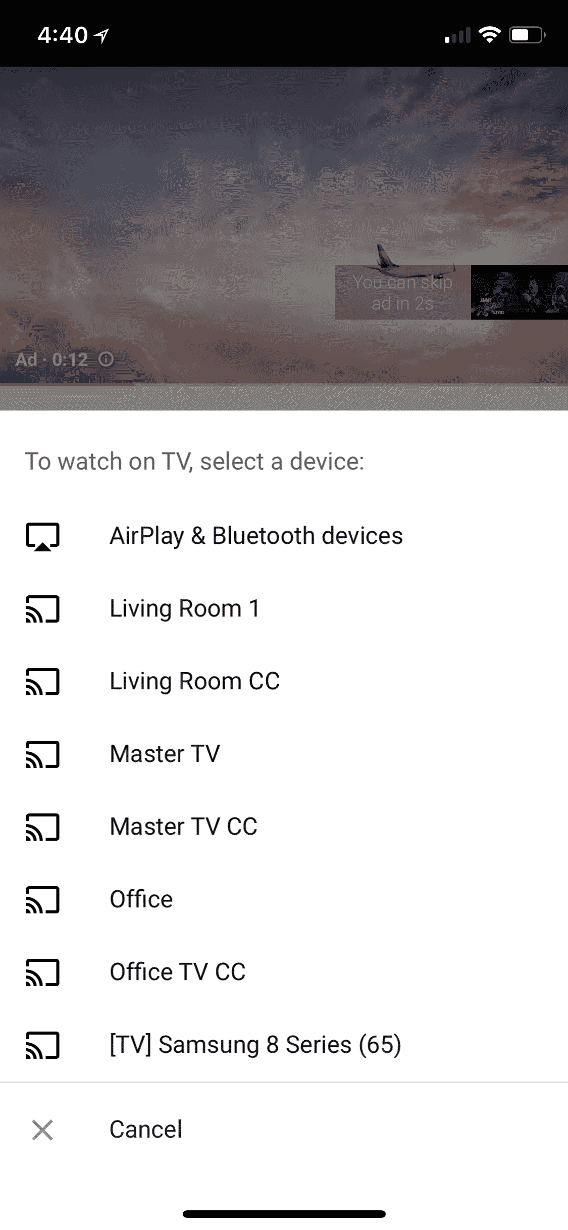 Chromecast Issue 1