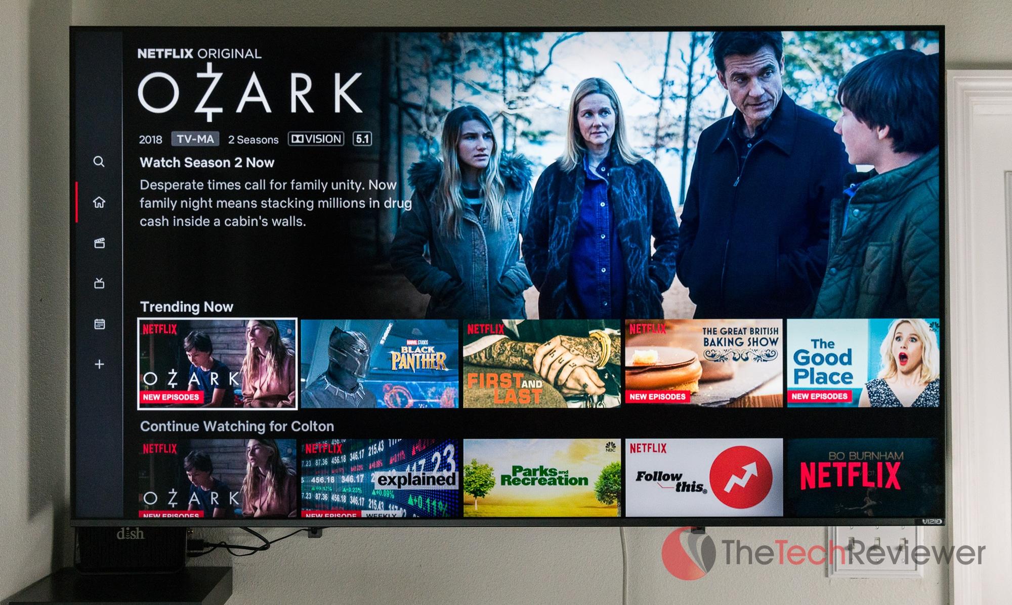 Netflix app on SmartCast OS