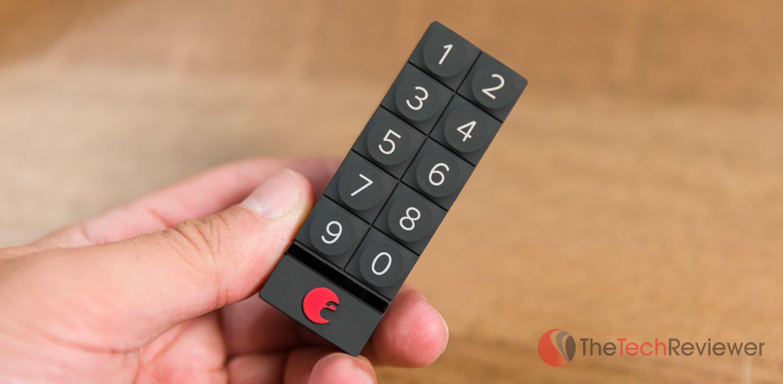 August Smart Keypad closeup