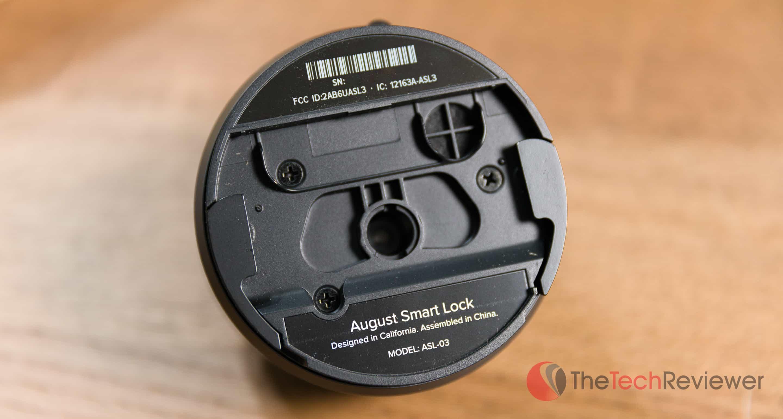August Smart Lock Pro Closeup Back