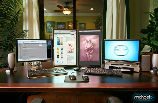 Mashup: 20 of the Coolest Home Office & Workstation Setups Compiled