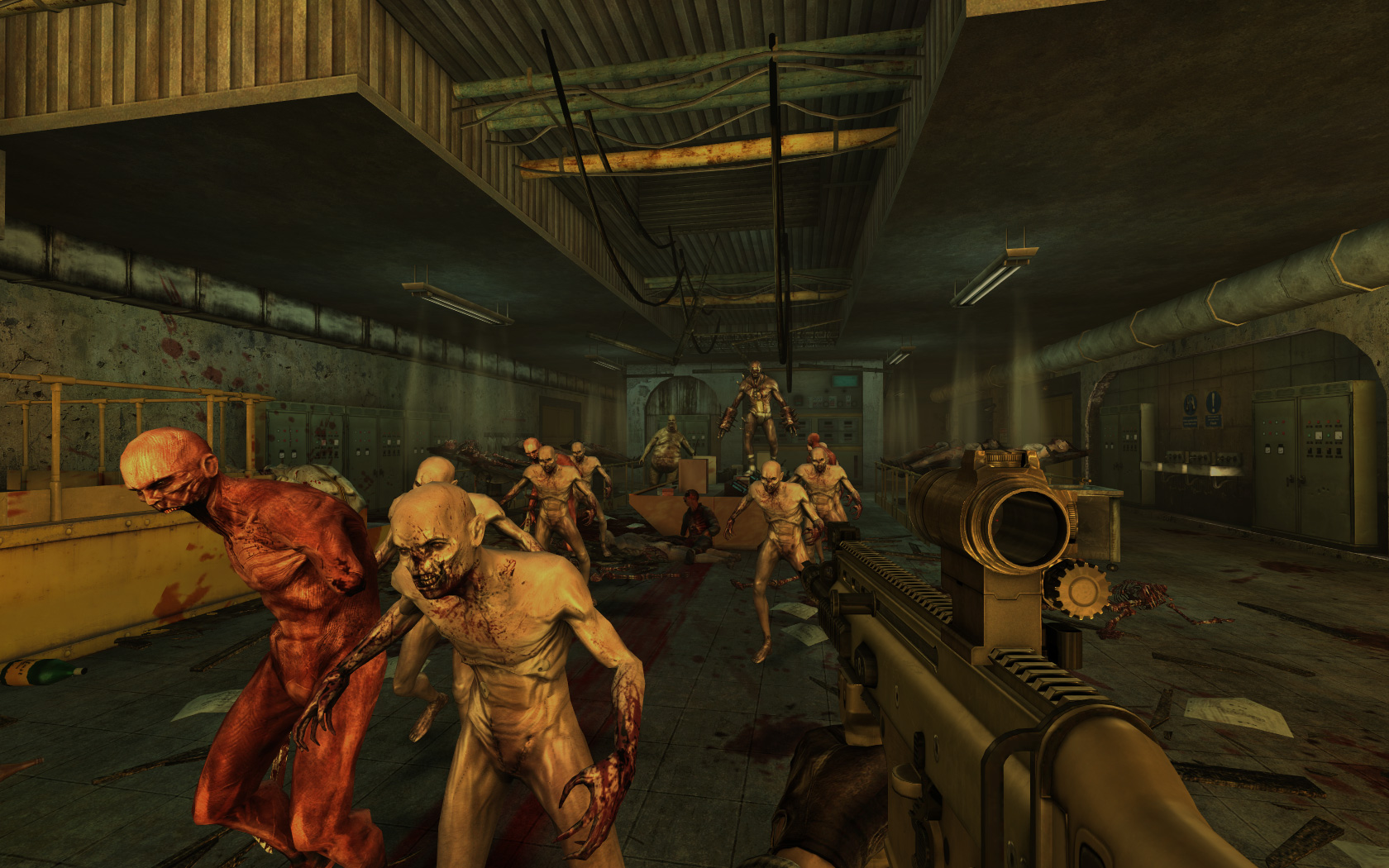 2012 video game round up 6 fun exciting zombie killing for Killing floor zombies