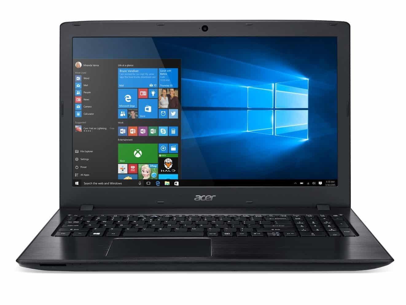 The $400 Acer Aspire E15 Laptop
