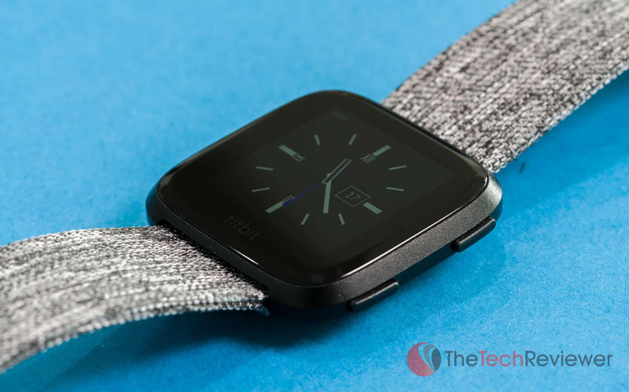 Fitbit Versa Close Up