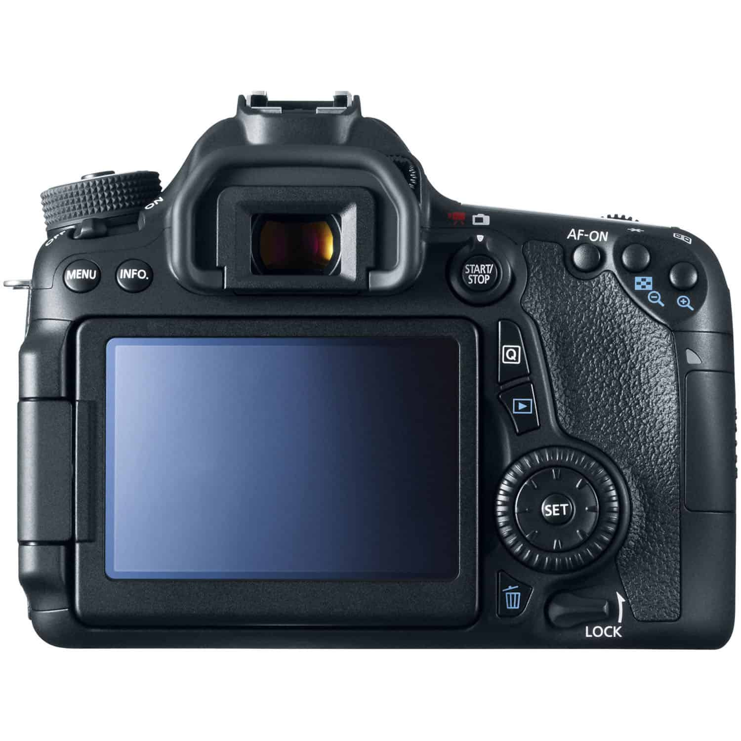 Canon 70D Rear LCD Display