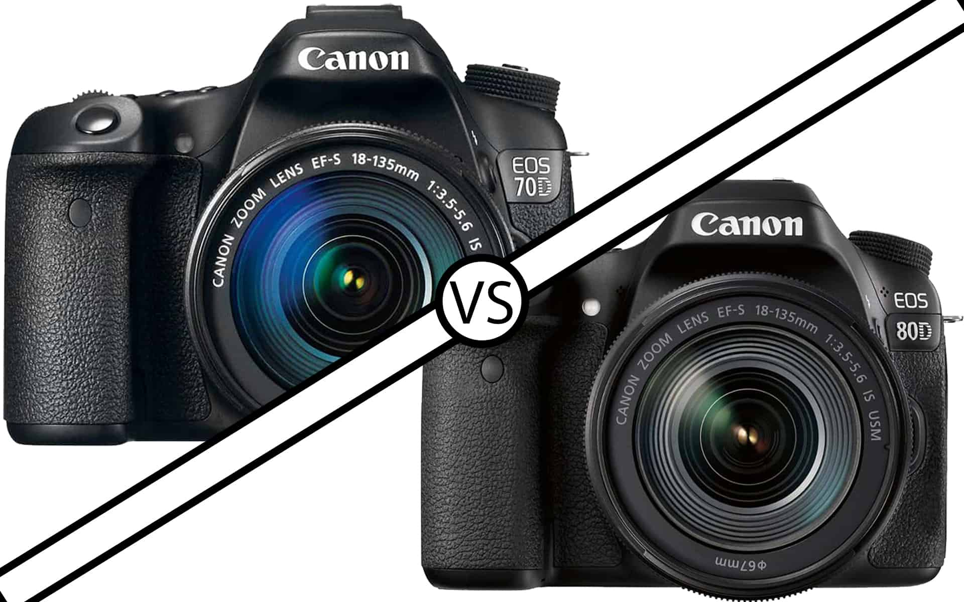 Canon 70D vs 80D