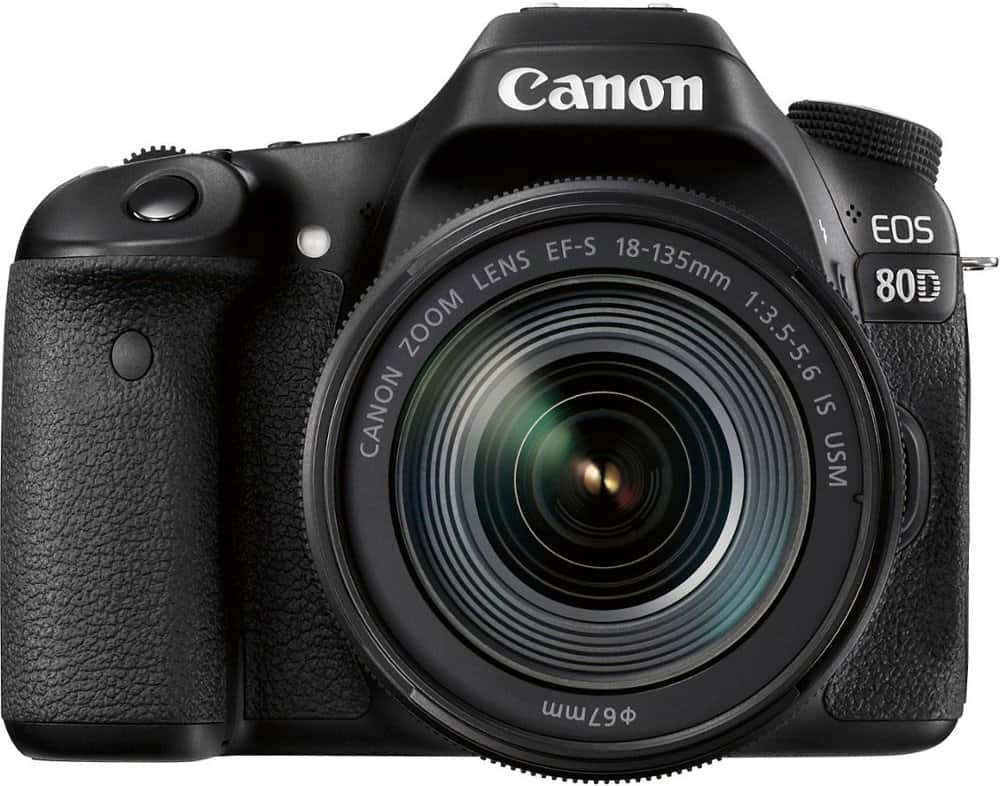 Canon 80D Body Front