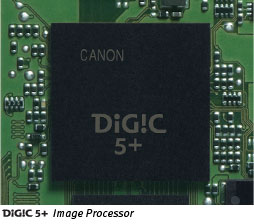 Canon Digic 5+ Processor