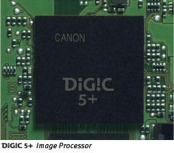 Canon Digic 5+ Processor
