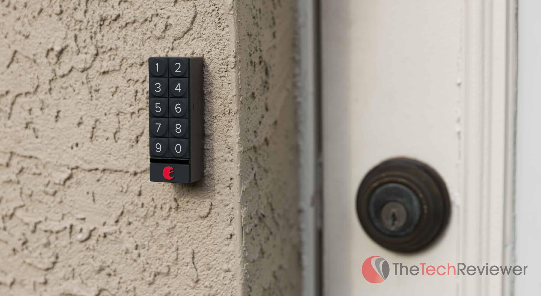 August Smart Keypad Closeup outside