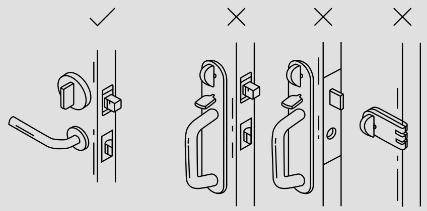 August Smart Lock Deadbolt Compatibility Graphic