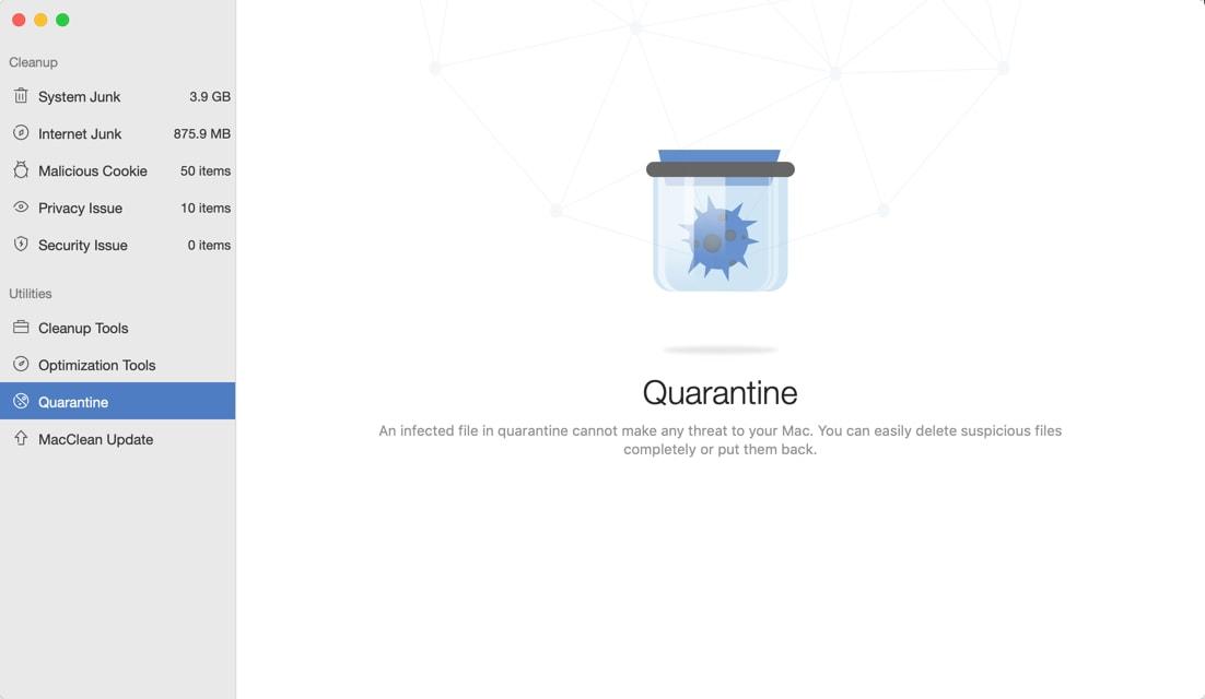 Mac Clean Quarantine