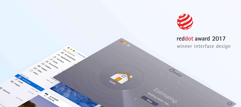 Reddot award for interface gemini 2